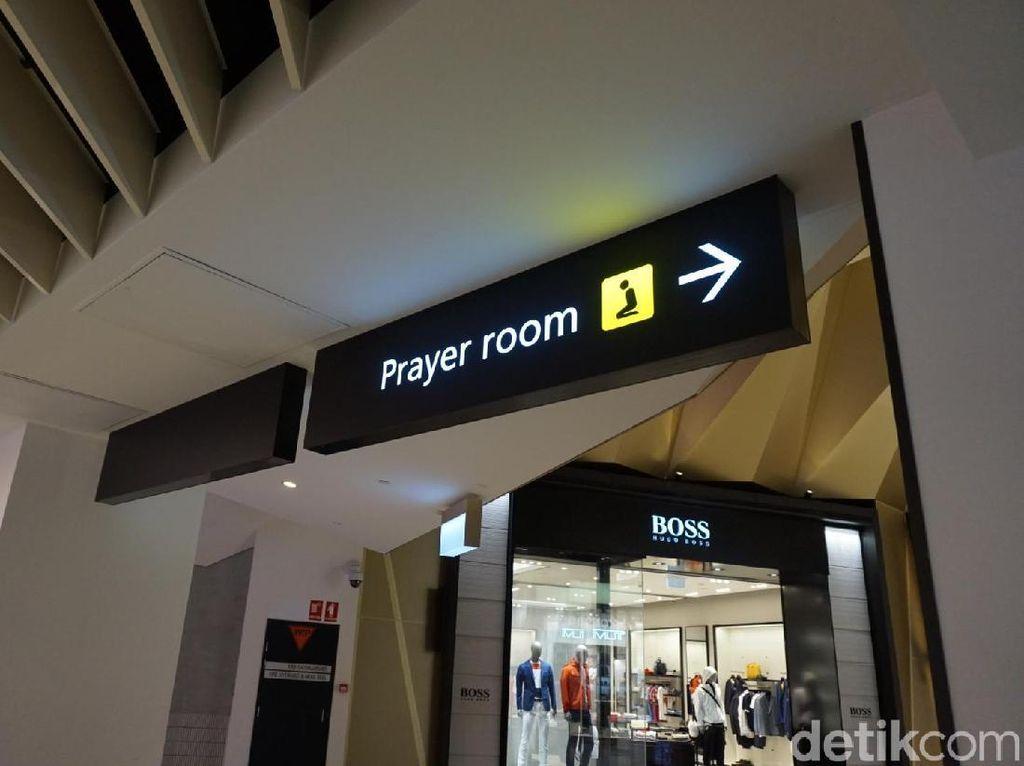 Foto: Melihat Tempat Ibadah di Bandara Melbourne Australia
