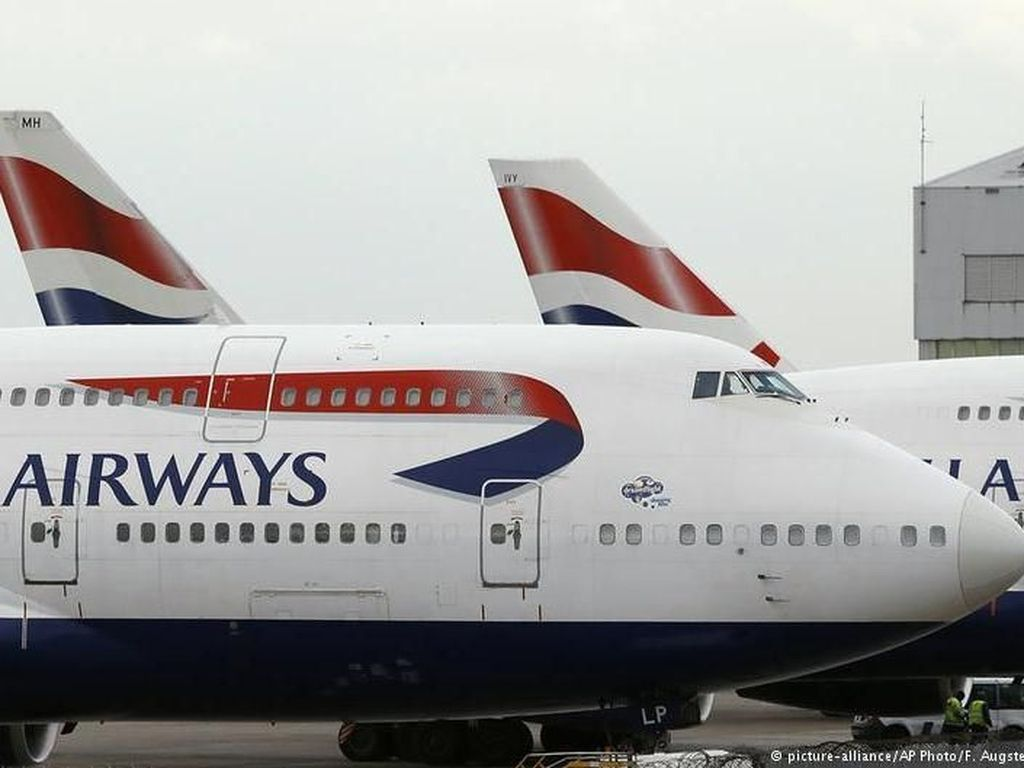 British Airways dan Air France Hentikan Penerbangan ke Iran