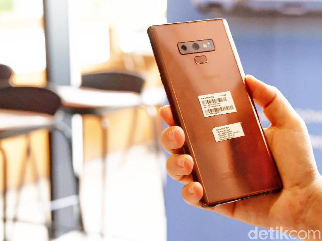 Penampakan Galaxy Note 9 Metallic Chopper yang Menawan
