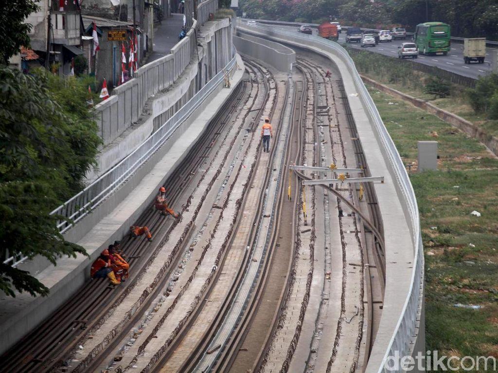 Sejak Kapan Pemprov dan Kemenhub Tak Sepakat soal Stasiun LRT Dukuh Atas?
