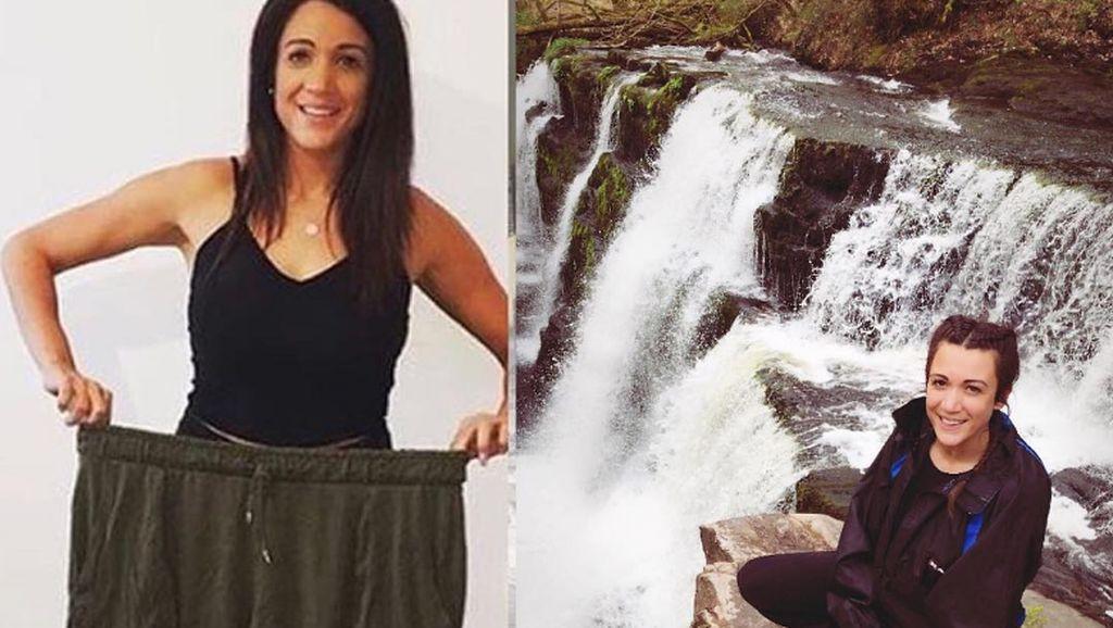 Foto: Transformasi Inspiratif Wanita Turun Bobot 32 Kg dalam Setahun