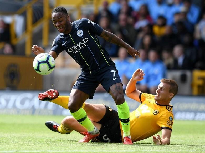 Hasil Liga Inggris: Wolverhampton Vs City Selesai 1-1