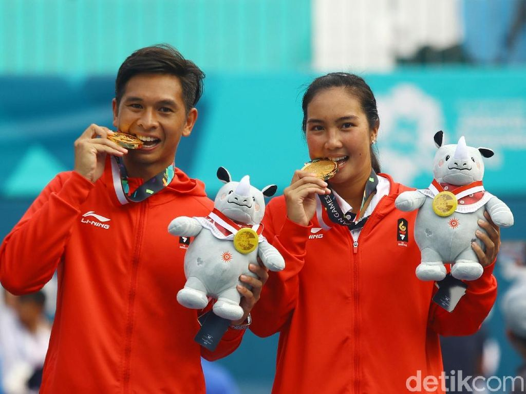 Christo/Aldila Gondol Emas Tenis Asian Games
