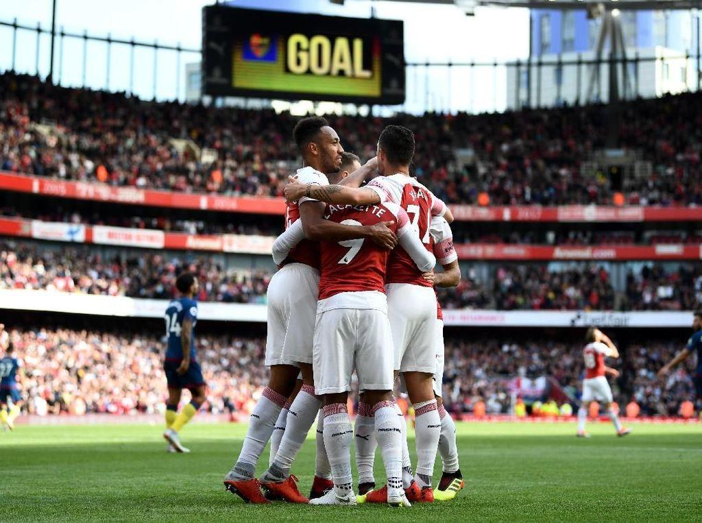 Hasil Liga Inggris: Kalahkan West Ham, Arsenal Raih Kemenangan Pertama