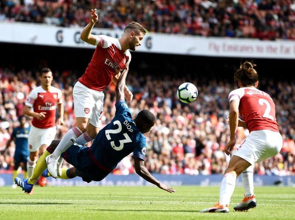 Arsenal Berimbang 1-1 dengan West Ham di Babak Pertama