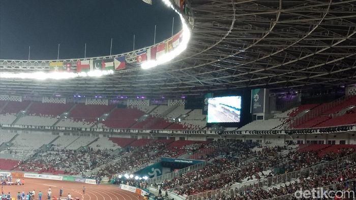 Stadion Utama Gelora Bung Karno menjadi kandang Timnas Indonesia di Pra Piala Dunia 2022. (Foto: Amalia Dwi Septi/detikSport)