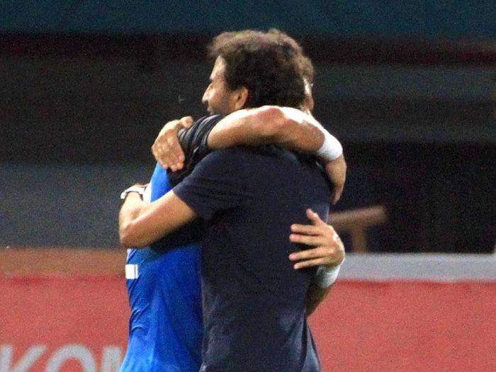 Bagaimana nasib Luis Milla setelah gagal memenuhi target di Asian Games 2018 (ANTARA FOTO/INASGOC/Hery Sudewo)