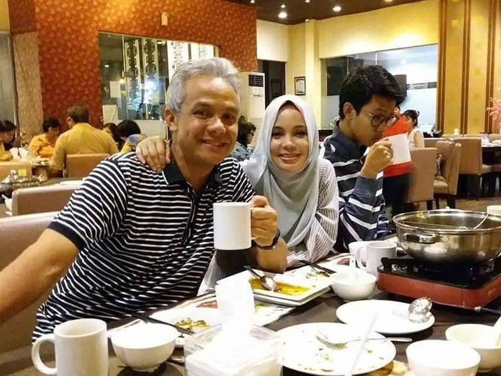 Siti Atikoh Istri Ganjar Pranowo Ternyata Suka Kulineran Juga, Ini Buktinya!