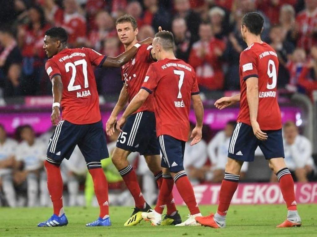 Bayern Menang untuk Cari Ketenangan, Bukan untuk Selebrasi