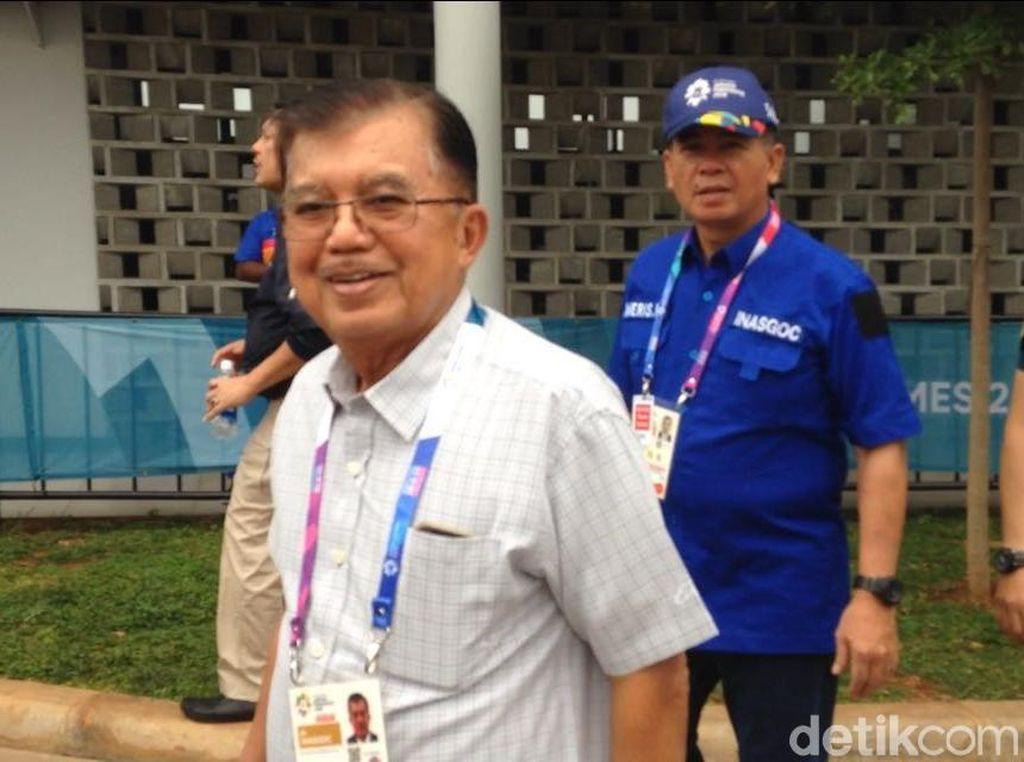 Medali Emas di Asian Games Lampaui Target, JK Acungkan Jempol