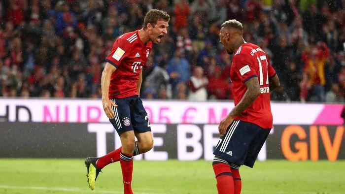 Bayern Munich mempertanyakan keputusan Joachim Loew terkait masa depan Thomas Mueller, Jerome Boateng, dan Mats Hummels di timnas Jerman (Foto: Michael Dalder/Reuters)