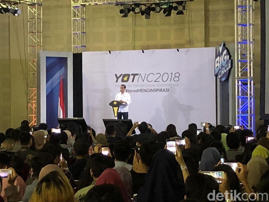 Jokowi Hadiri Young on Top National Conference, Siap Motivasi Pemuda