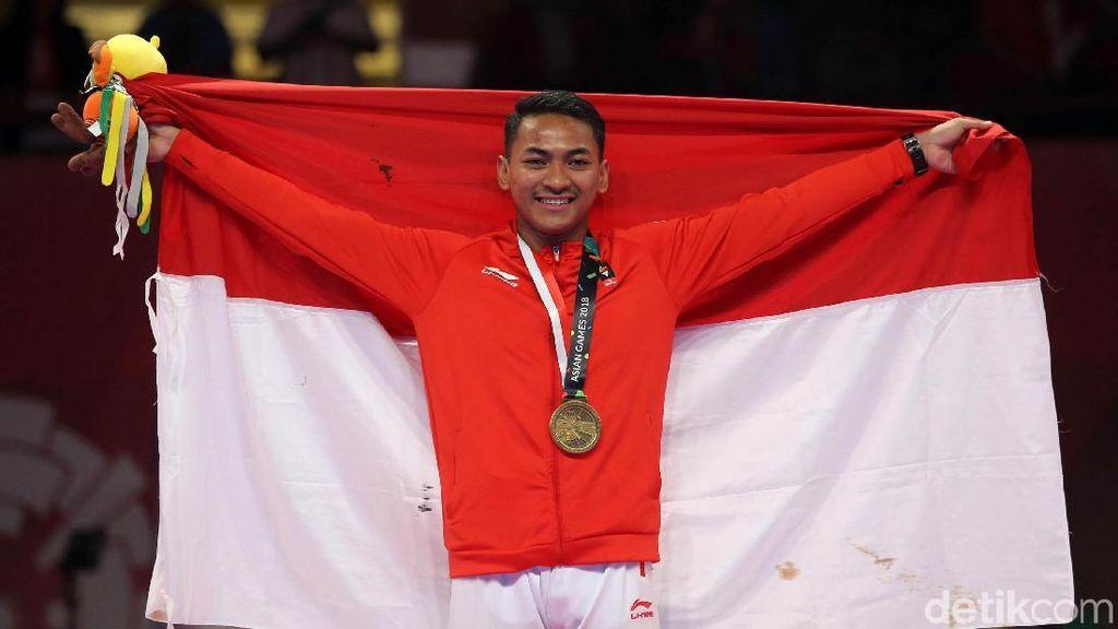 Karateka Zigi Zaresta Raih Perunggu Asian Games 2018