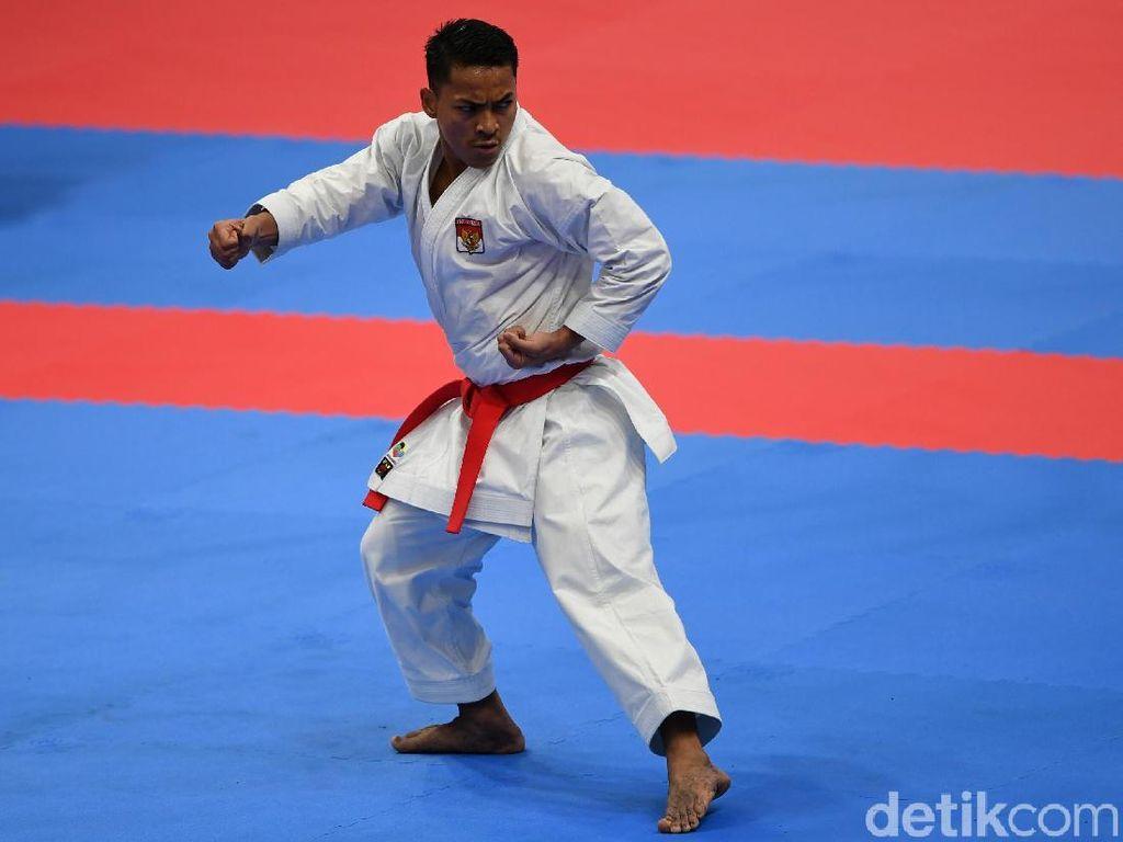 Raih Perunggu Asian Games, Karateka Zigi Zaresta: Ini yang Terbaik