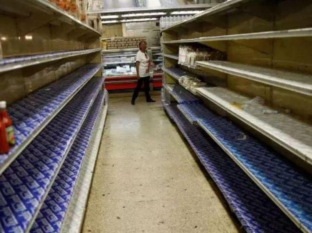 Krisis Ekonomi, Toko-toko di Venezuela Tutup