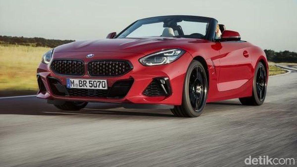 Kolaborasi BMW dan Toyota Lahirkan Z4 Roadster Cantik