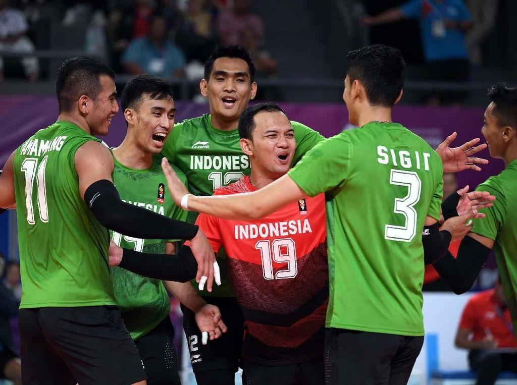 Voli Putra Indonesia Hadapi Thailand di Babak 12 Besar Asian Games
