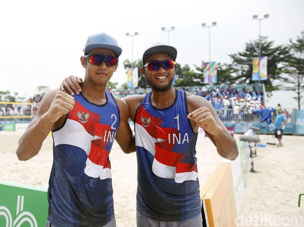 Tim Voli Pantai Putra Gilang/Danang Melenggang ke Semifinal