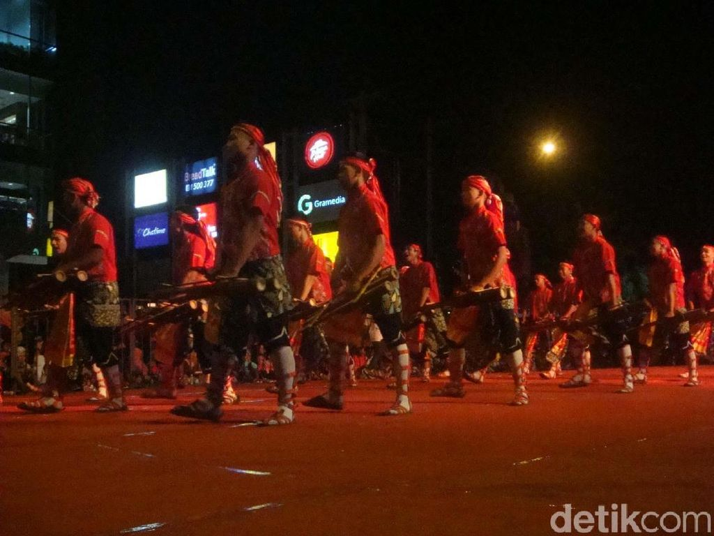 Meriahnya Festival Kentongan di Purwokerto