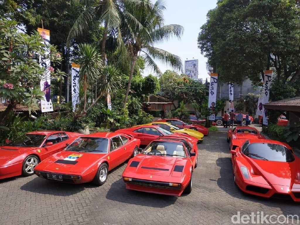 Pajak Ferrari Klasik Lebih Murah dari Motor Bebek!