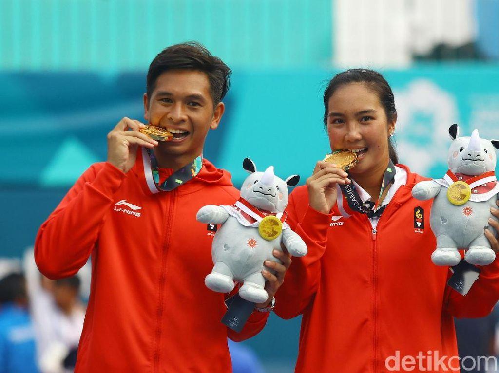 Christo/Aldila Akhiri Paceklik 16 Tahun Medali Tenis Asian Games