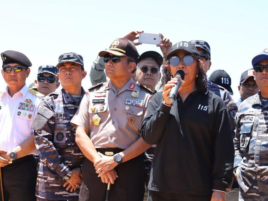 Dahsyat, Susi Tenggelamkan 488 Kapal Maling Ikan