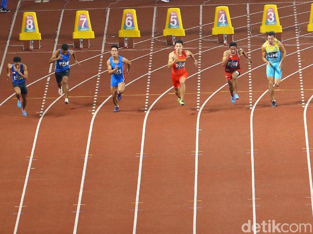 Lalu M Zohri Pijak Semifinal Lari 100 M Asian Games 2018