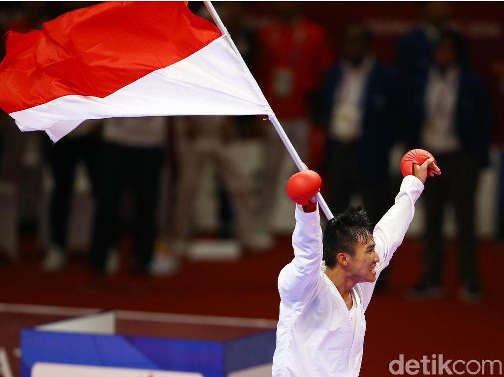 Video Karate Sumbang Medali Emas di Asian Games 2018
