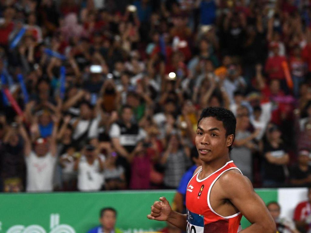 Juara di Malaysia dan Ditunggu UN, Zohri Menatap Kejuaraan Asia Atletik di Doha