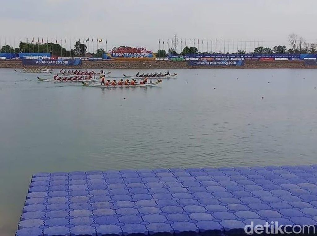 Tim Perahu Naga Putra Raih Perunggu Asian Games 2018