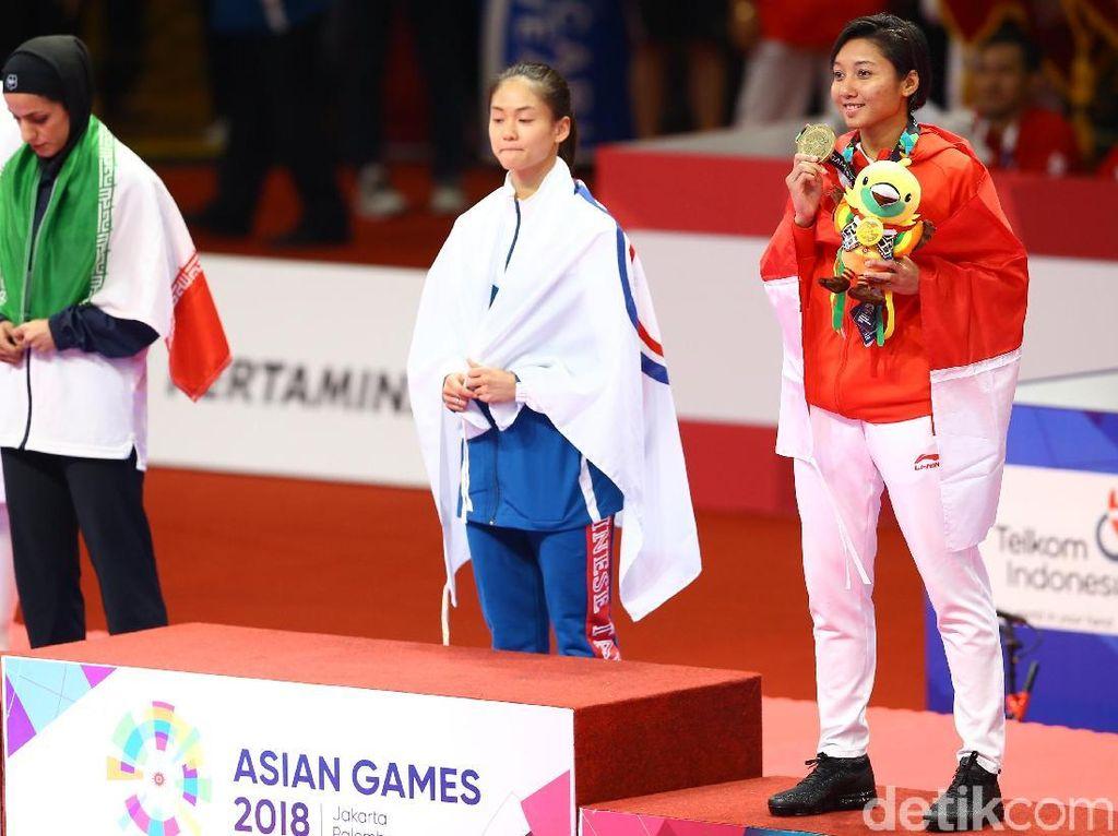 Karate Kembali Sumbang Perunggu buat Indonesia di Asian Games 2018