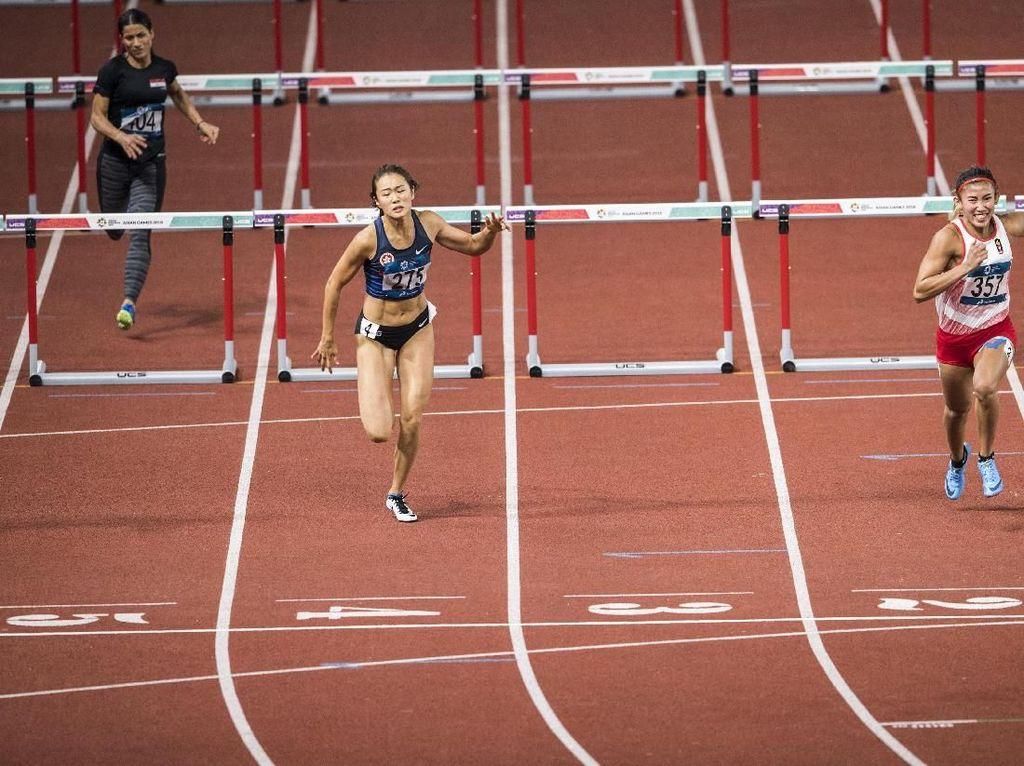 Emilia Nova Lolos ke Final 100 Meter Lari Gawang