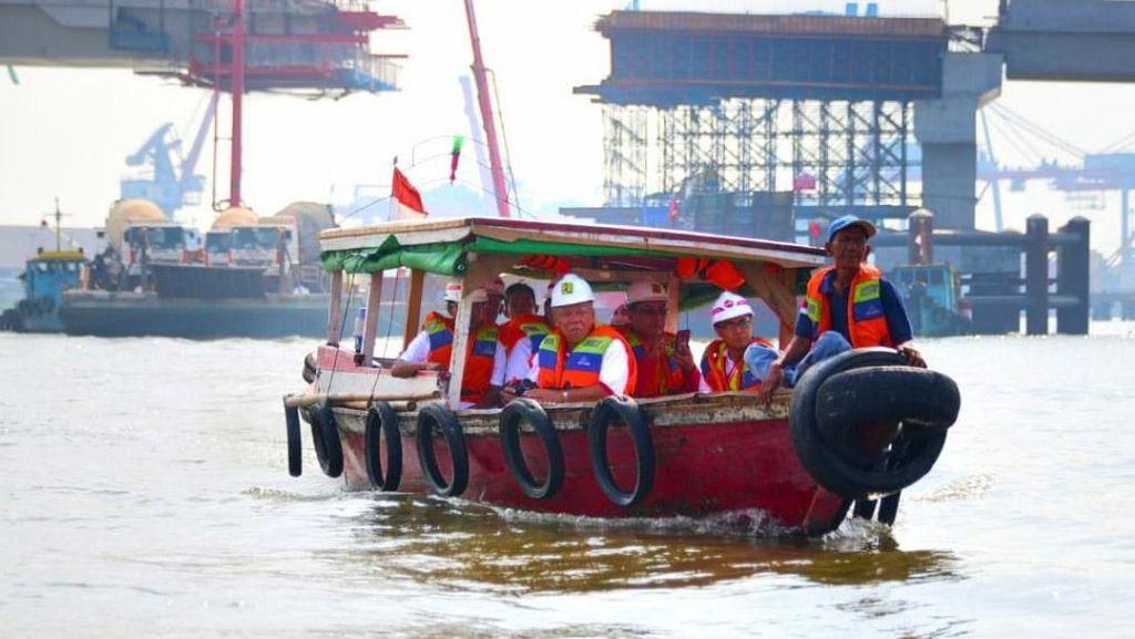 Hampir Kelar, Begini Penampakan Terbaru Proyek Jembatan Musi IV