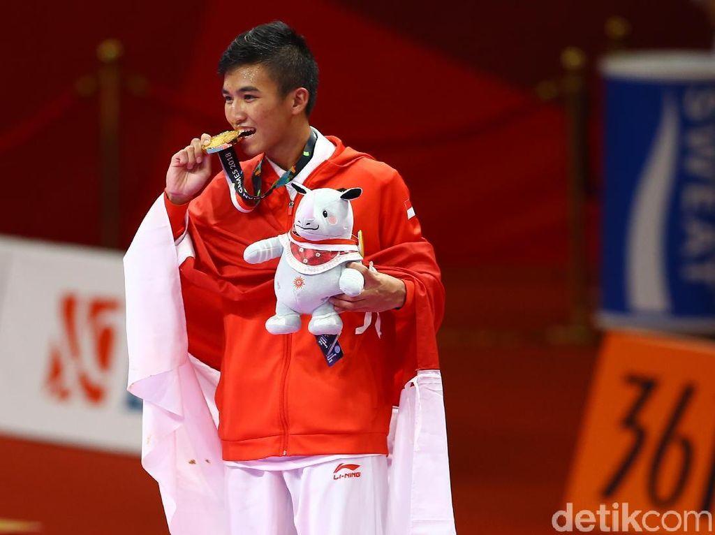 Emas Indonesia di Asian Games 2018 Bertambah dari Karate
