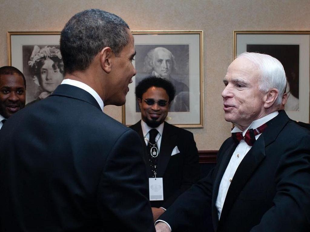 John McCain Meninggal, Obama Ucapkan Belasungkawa