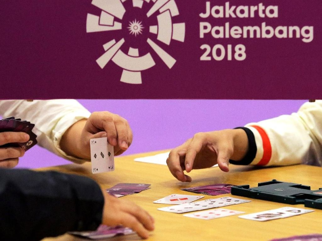 Bridge Sumbang Dua Medali Perunggu Asian Games 2018 buat Indonesia