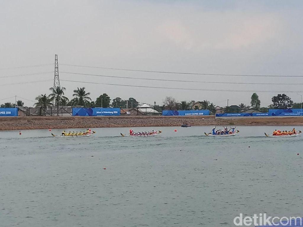 Perahu Naga Putri Gagal Sumbang Medali Asian Games 2018