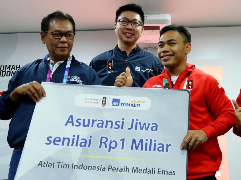 AXA Mandiri Beri Perlindungan Lebih ke Atlet Peraih Medali