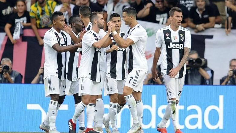 Hasil Liga Italia: Juventus Tumbangkan Lazio 2-0