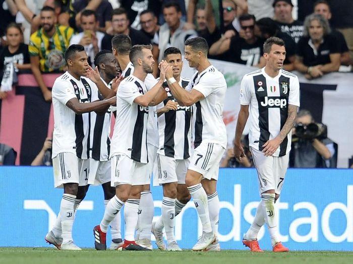 Pemain Juventus di Liga Italia 2018/2019. (Foto: Marco Rosi/Getty Images)