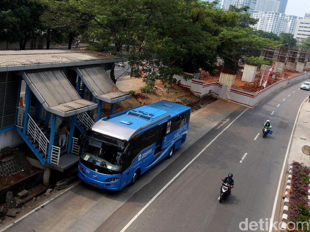 Biaya Kawinkan Bus dan LRT Lebih Mahal dari Bikin Busway