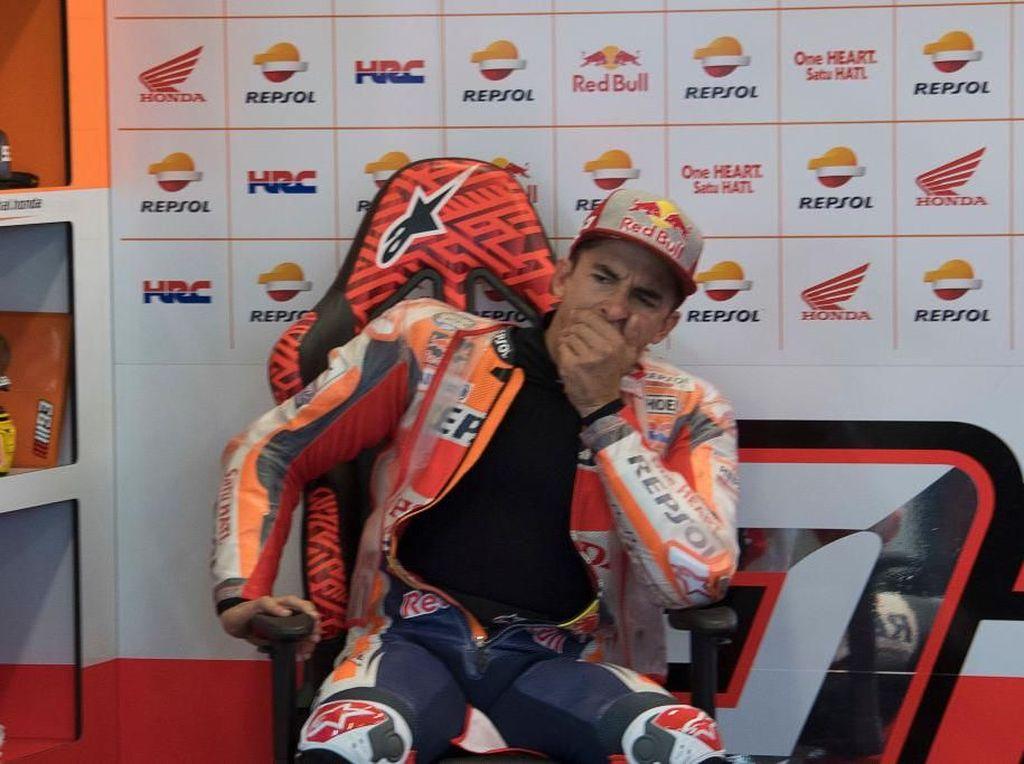 Marquez Pebalap Paling Sering Jatuh di MotoGP 2018