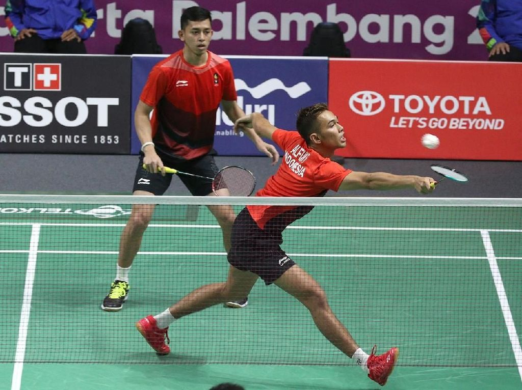 Bulutangkis Asian Games 2018: Kalahkan Duo China, Fajar/Rian ke Final