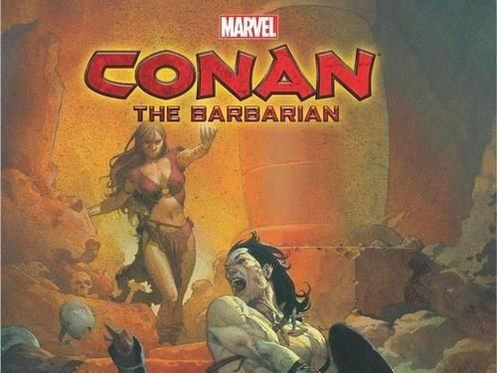 Komik Conan the Barbarian Segera Meluncur