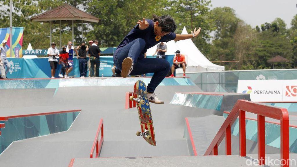 Mengintip Para Atlet Skate Indonesia Berlatih