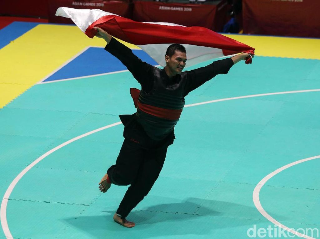 Aji Bangkit Pamungkas Raih Emas ke-16 Indonesia di Asian Games 2018