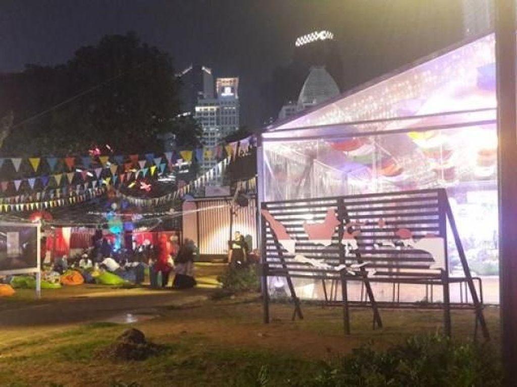 Setelah Nonton Asian Games, Jalan-Jalan Sore di GBK Yuk