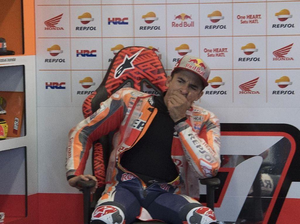 Mata Kelilipan, Marquez pun Start Kelima