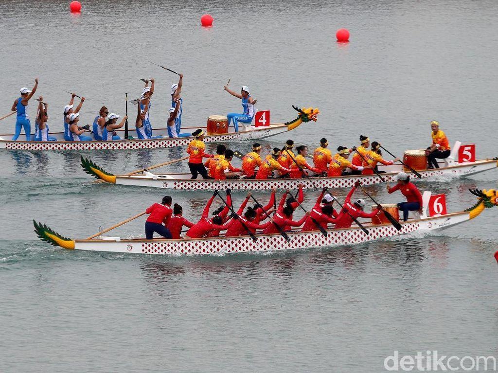 Dapat 2 Perak dan 1 Perunggu, Tim Perahu Naga Indonesia Sudah Maksimal