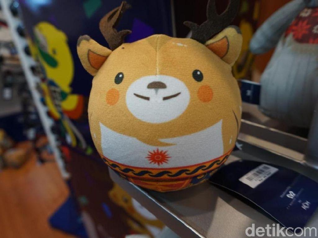 Sekarang Ludes, Boneka Maskot Asian Games Sempat Ditolak Penjual